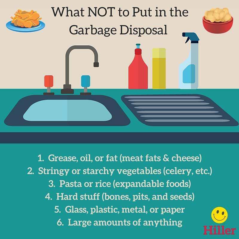 garbage disposal tips