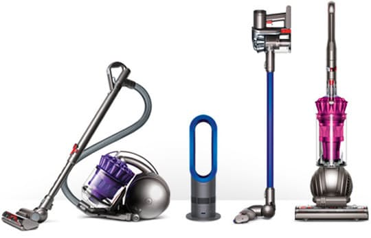 Dyson vacuums with HEPA filtration