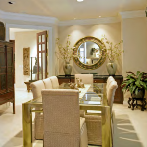 interior lighting design for dining room