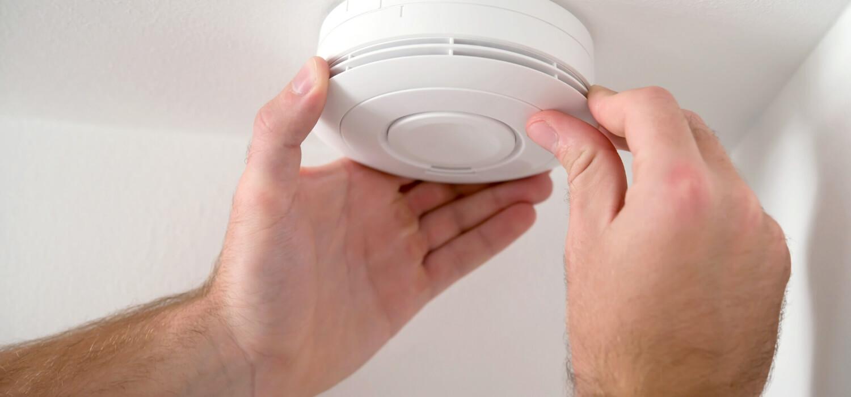 change out smoke detectors
