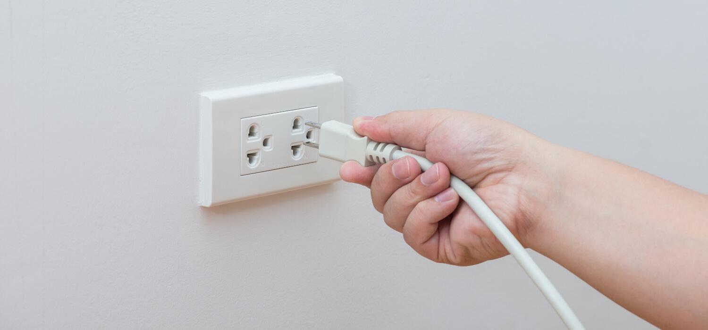 unplug devices