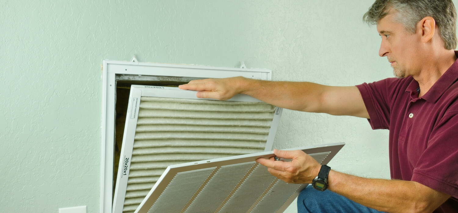 service my air conditioner and change the filter
