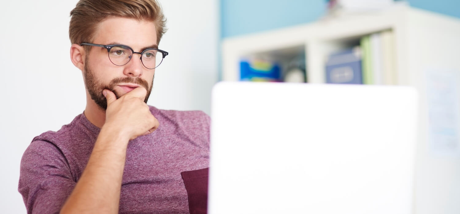Man Learning About Electrical Repairs