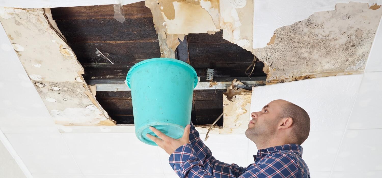 Water Leak in Ceiling of Home
