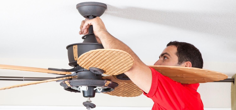 New Ceiling Fan Home Renovation